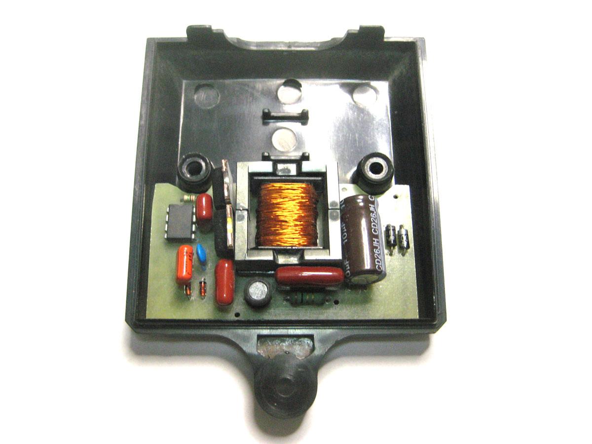 схема подключения светильника люминесцентными лампами