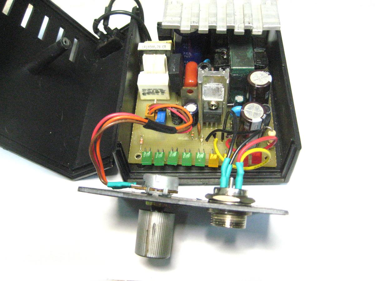 схема регулятор мощности на bt138